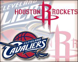 Cavaliers vs Rockets