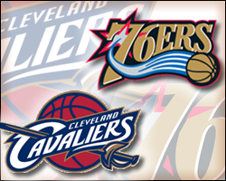 Cavaliers vs 76ers