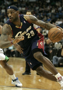 LeBron James, Timberwolves