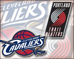 Cavaliers vs Blazers