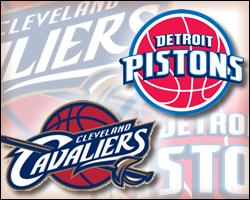 Cavaliers vs Pistons