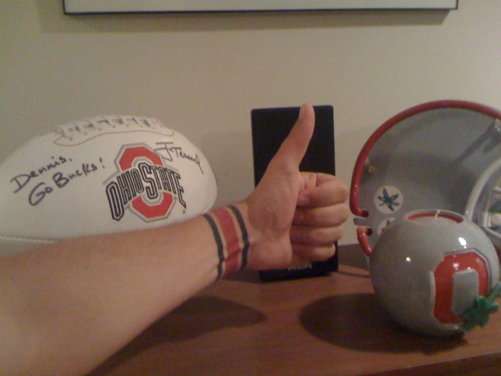 Buckeyes Thumbs Up