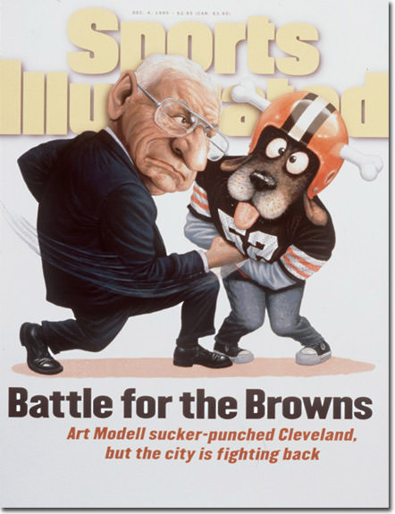 Modell Browns SI Cover
