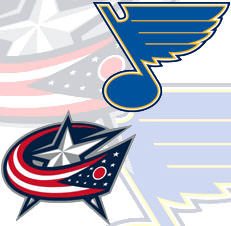 jackets vs. blues