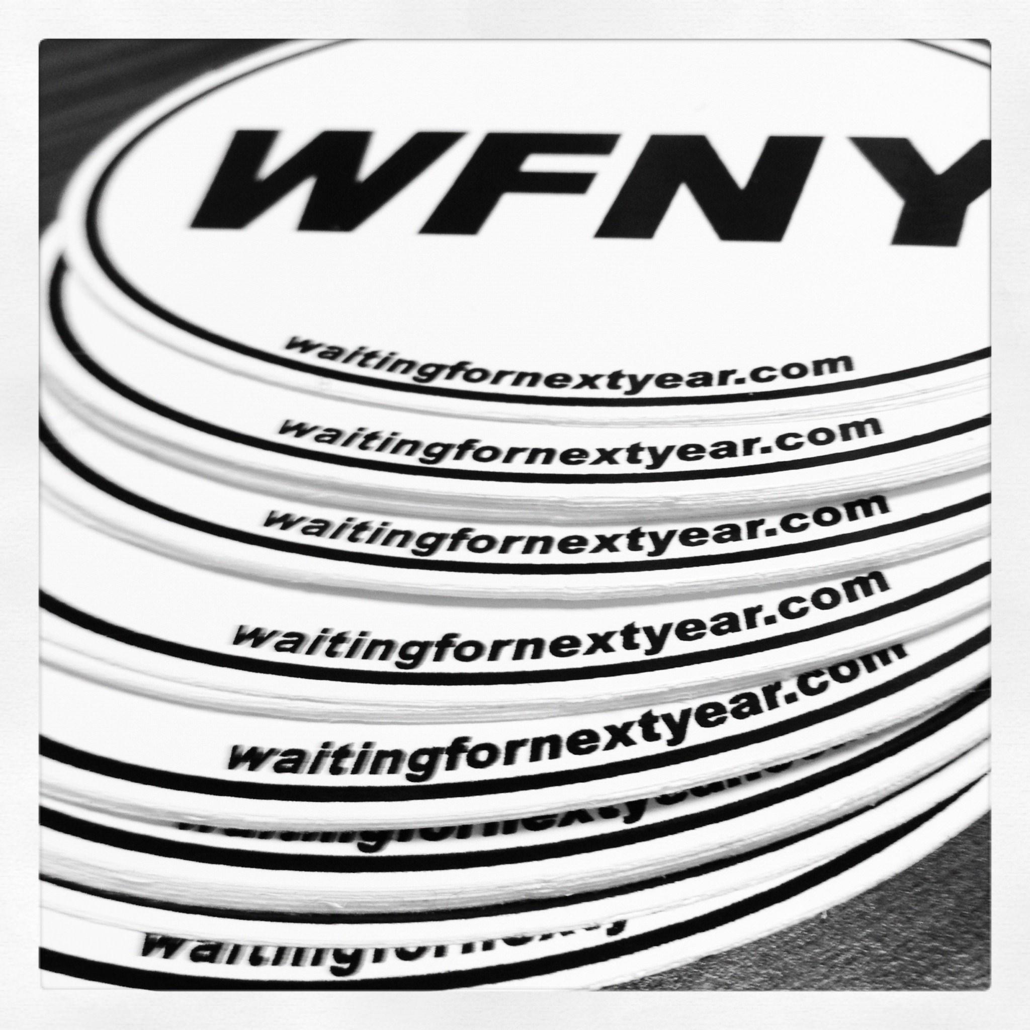 WFNY stickers