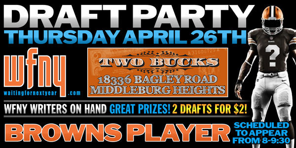 Hey! Come to our draft party!