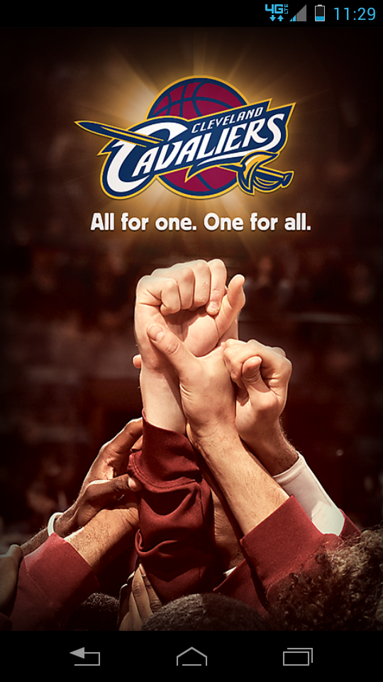Screenshot cavs app
