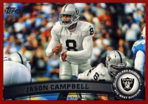 Jason Campbell Football Card