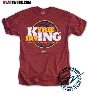 Kyrie King shirt