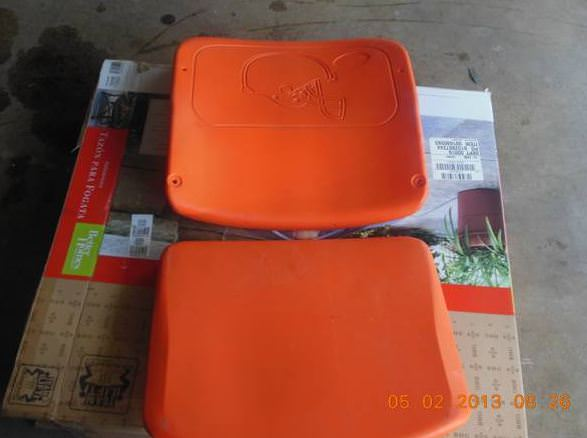 Browns Stadium seat