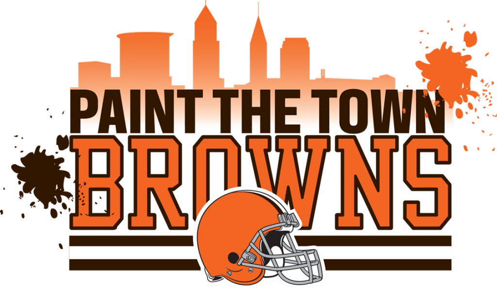 Paint The Town Browns Logo