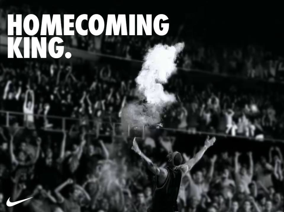 Nike Homecoming King