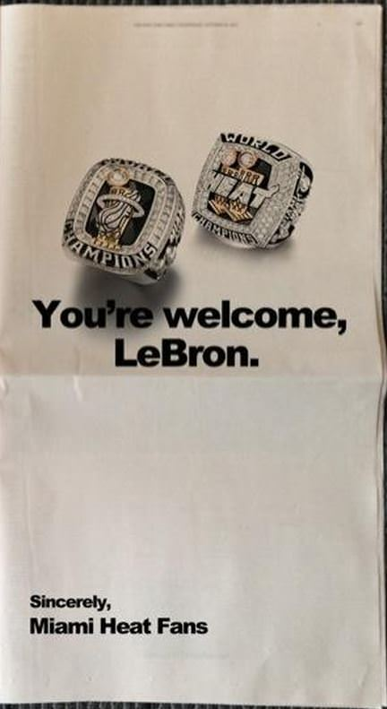 Trolling LeBron