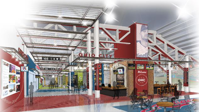 Tribe New concourse