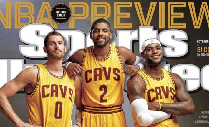 LeBron James Sports Illustrated Cleveland Cavaleirs