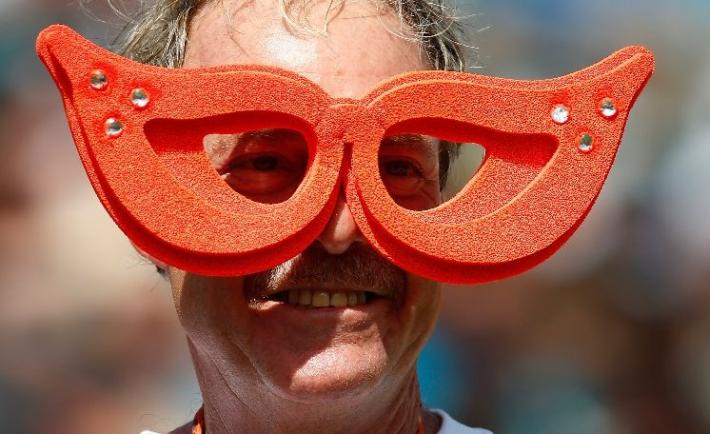 Goofy Cleveland Browns Fan