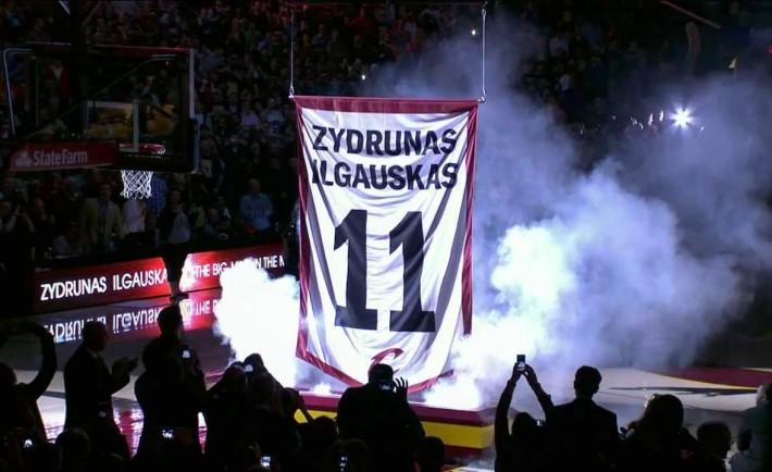 Cleveland Cavaliers Zydrunas Ilagauskas