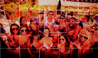 Johnny Manziel Las Vegas Collage