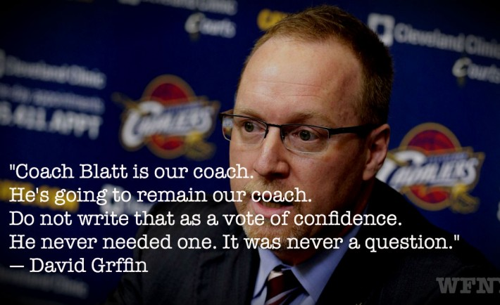 David Griffin Cleveland Cavaliers