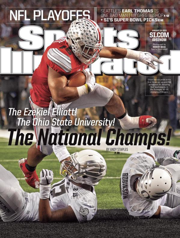 """The"" Ezekiel Elliott gets Sports Illustrated cover"