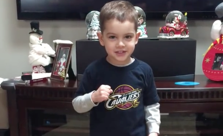 Cleveland Cavs intro video kid