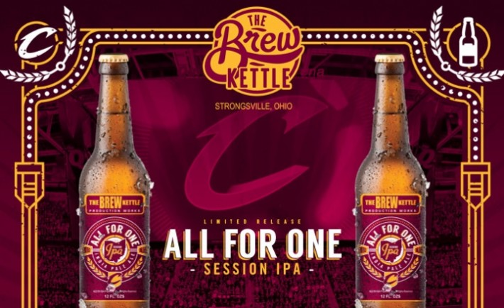 Cleveland Cavaliers IPA Brew Kettle