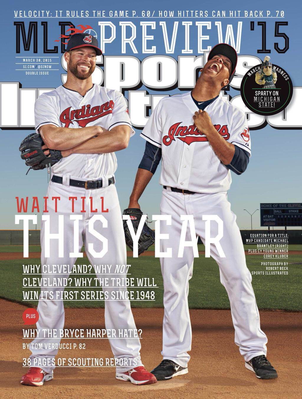 Sports Illustrated Cover: Why not the Indians?